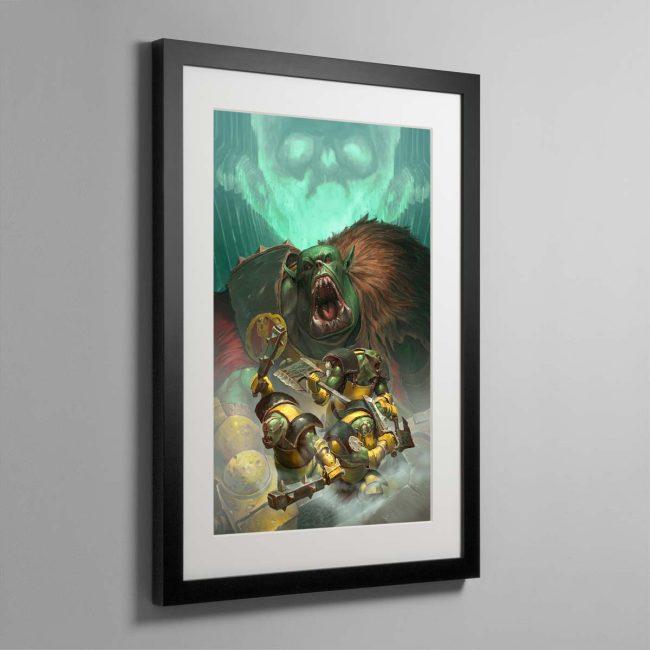 Ironskull's Boyz – Framed Print