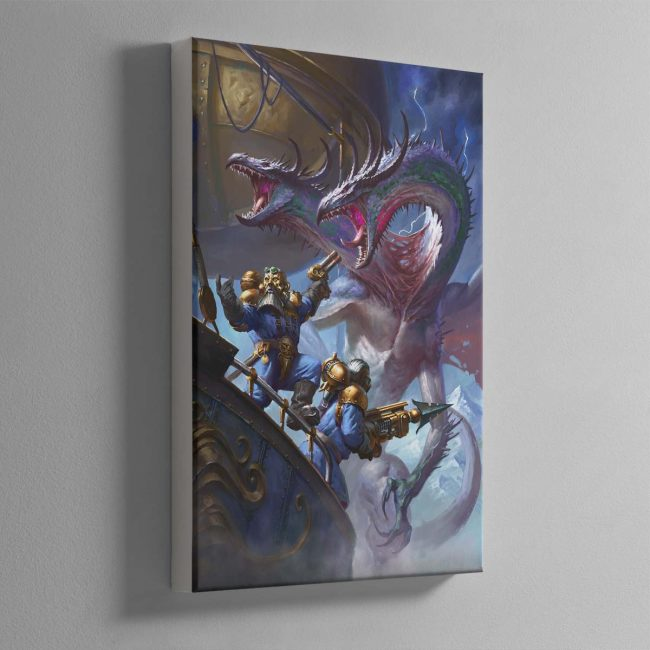 Overlords of the Iron Dragon – Canvas