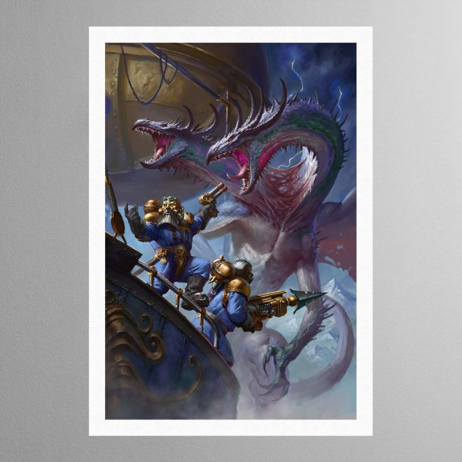 Overlords of the Iron Dragon – Print