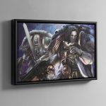 The Geld – Framed Canvas