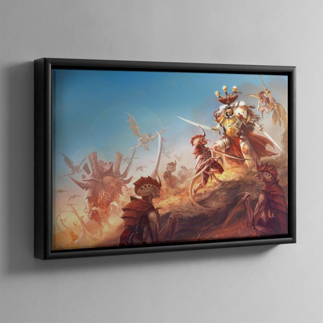 The Last Hunt – Framed Canvas