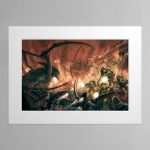 The Last Stand – Mounted Print