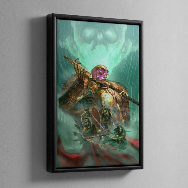 The Sepulchral Guard – Framed Canvas