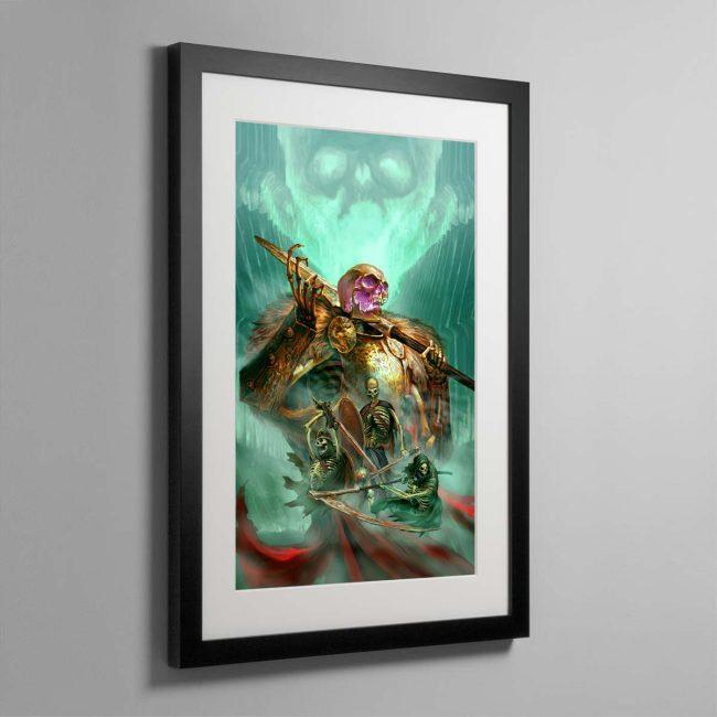 The Sepulchral Guard – Framed Print