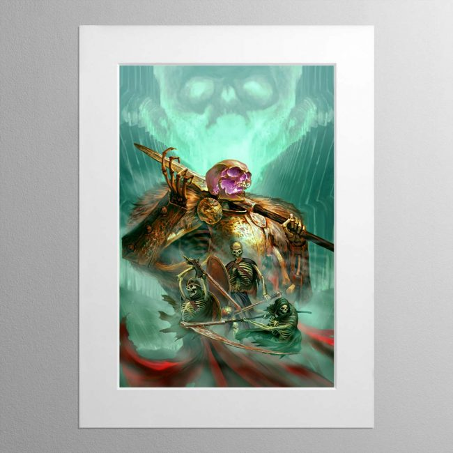 The Sepulchral Guard – Mounted Print