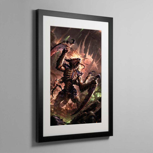 Tyranids – Framed Print