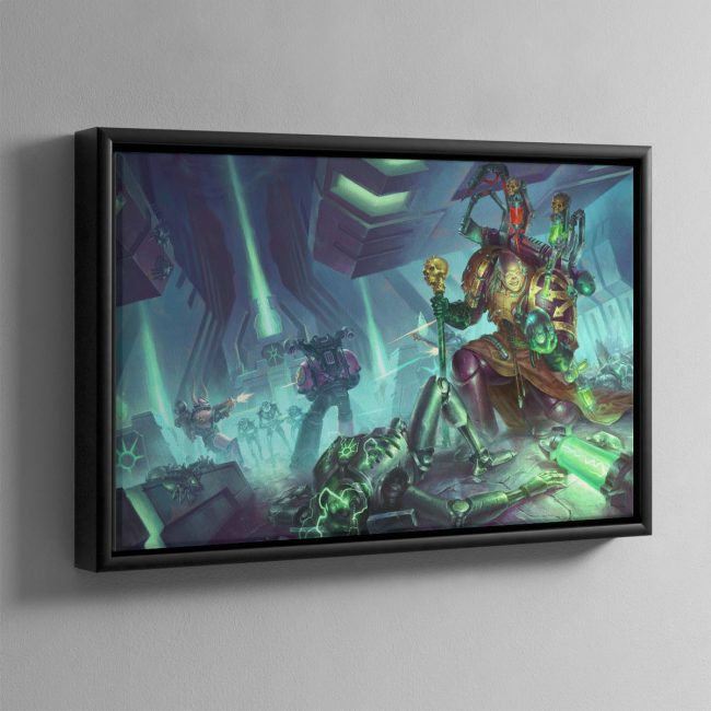 Fabius Bile Clonelord – Framed Canvas