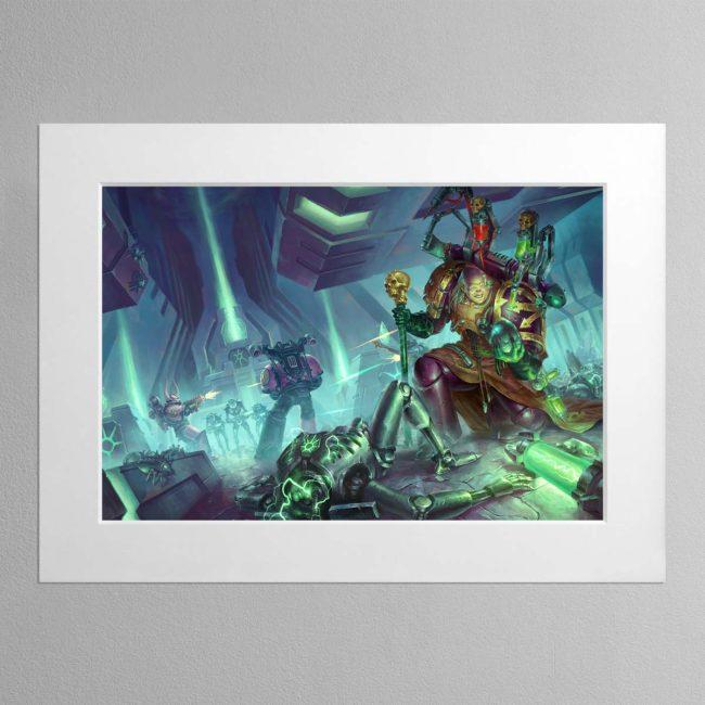 Fabius Bile Clonelord – Mounted Print