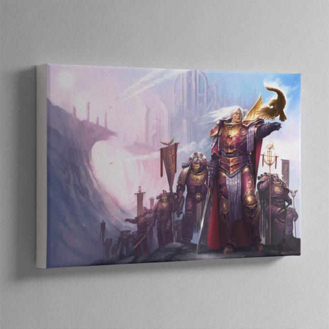 Fulgrim The Palatine Phoenix – Canvas