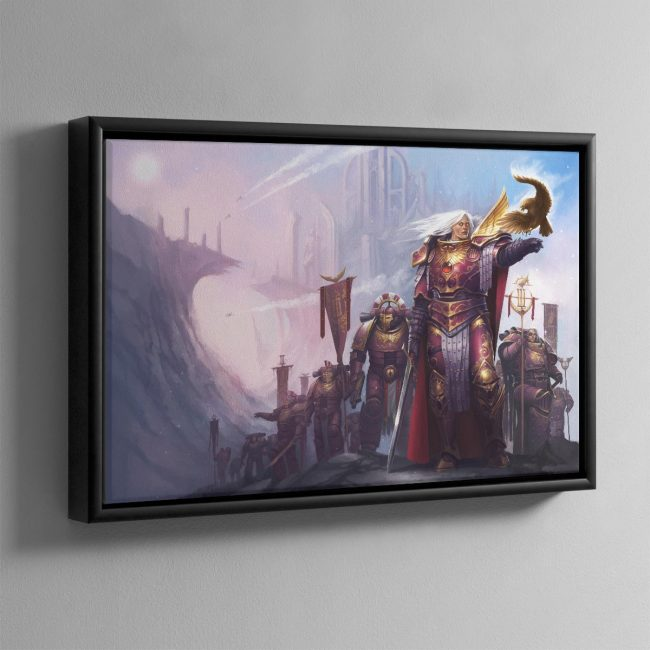 Fulgrim The Palatine Phoenix – Framed Canvas