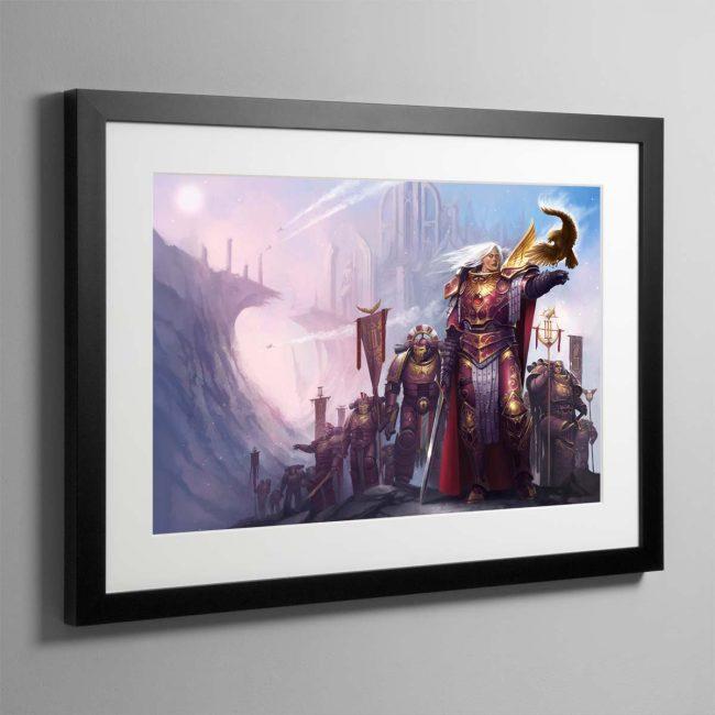 Fulgrim The Palatine Phoenix – Framed Print