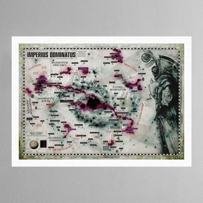 Galaxy Map – Print