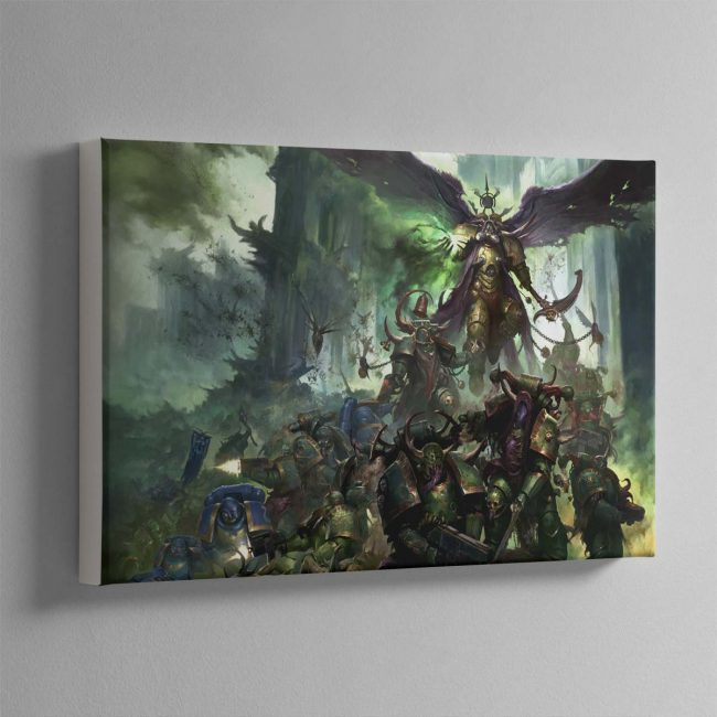 Mortarian and Deathguard Landscape – Canvas