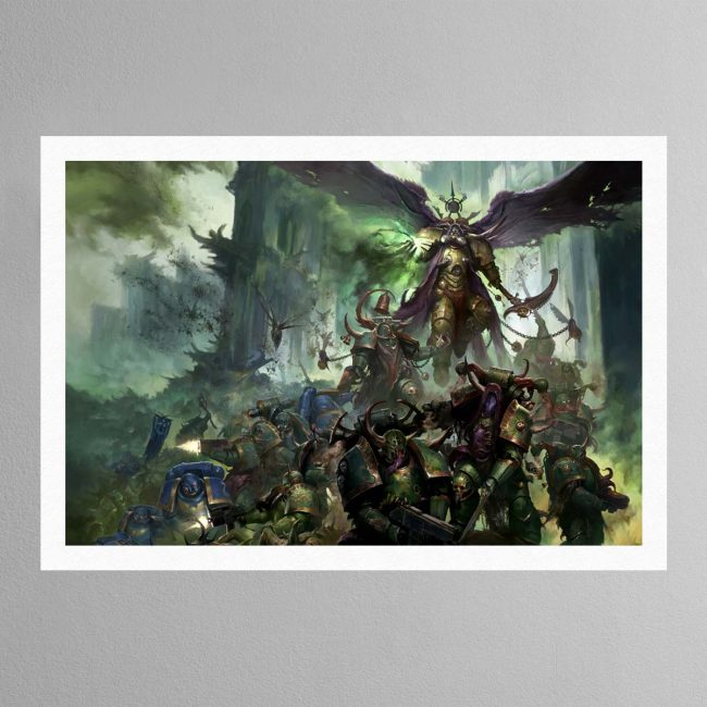 Mortarian and Deathguard Landscape – Print