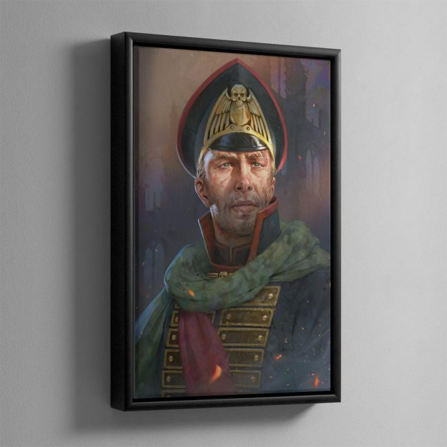 The Warmaster – Framed Canvas
