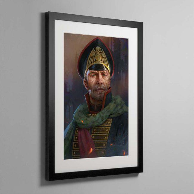 The Warmaster – Framed Print