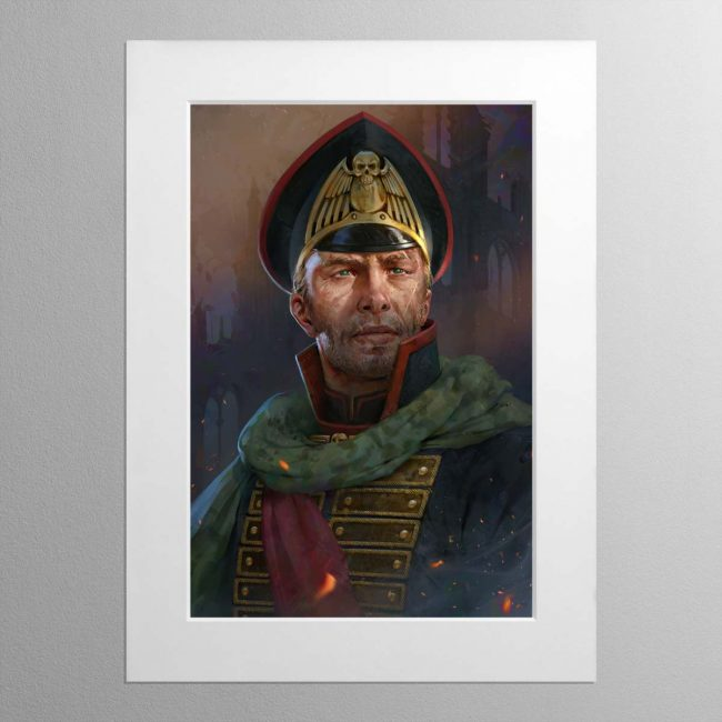 The Warmaster – Mounted Print