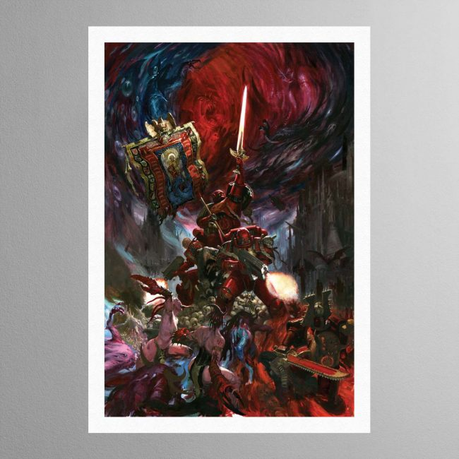 Blood Angels Command Company – Print