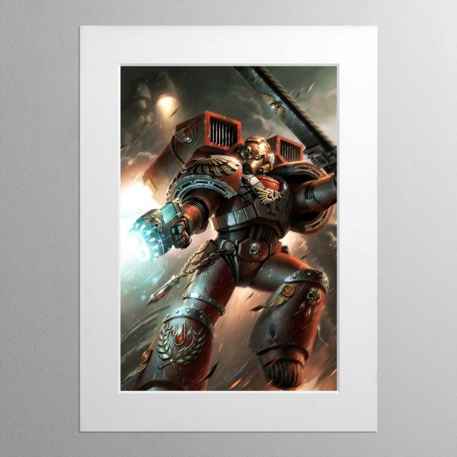 Blood Angels – Mounted Print