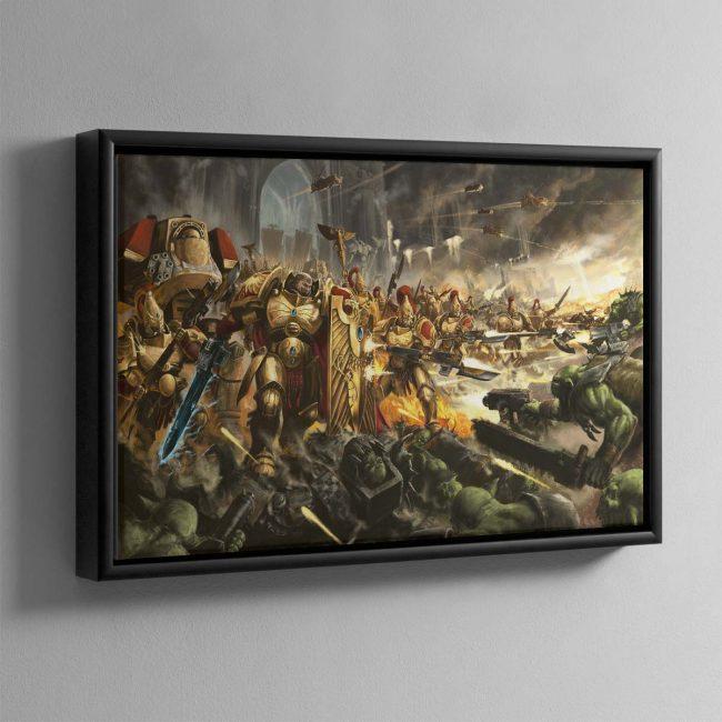 Brotherhood of Demigods – Framed Canvas