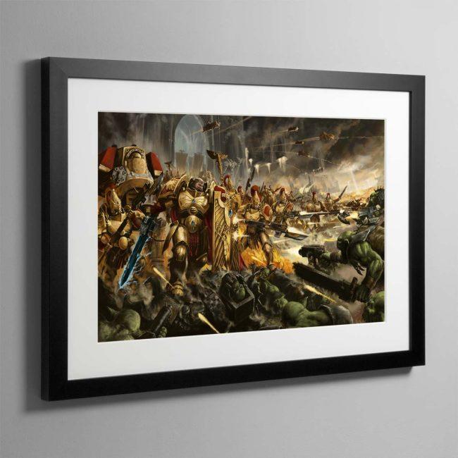 Brotherhood of Demigods – Framed Print
