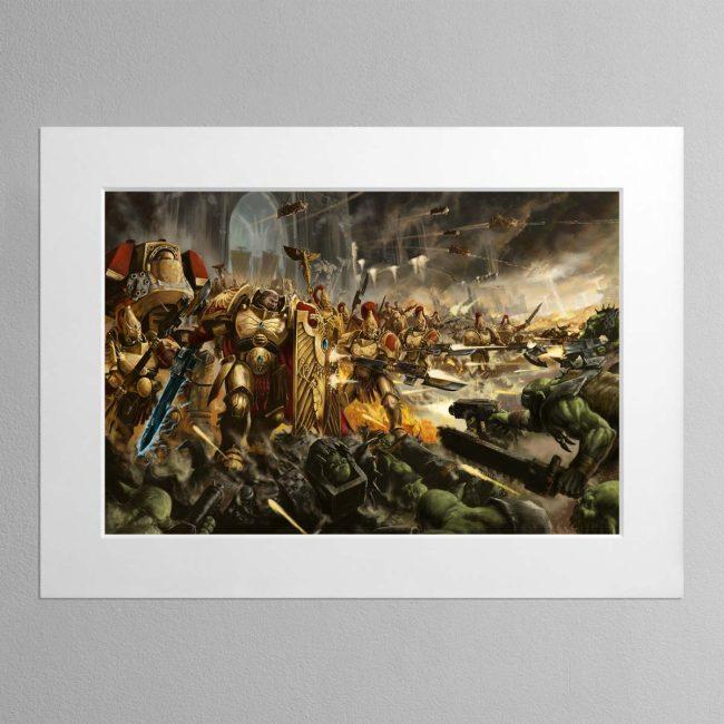Brotherhood of Demigods – Mounted Print