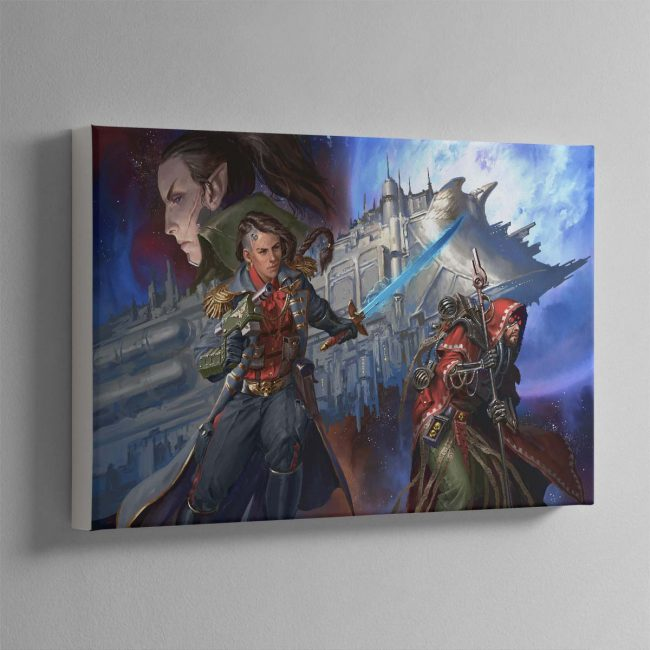 Corsair The Face of the Void – Canvas