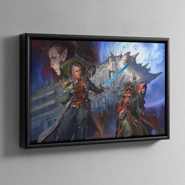 Corsair The Face of the Void – Framed Canvas