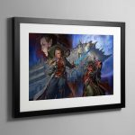 Corsair The Face of the Void – Framed Print