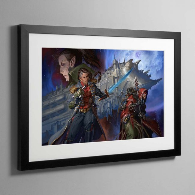 Corsair The Face of the Void – Framed Print