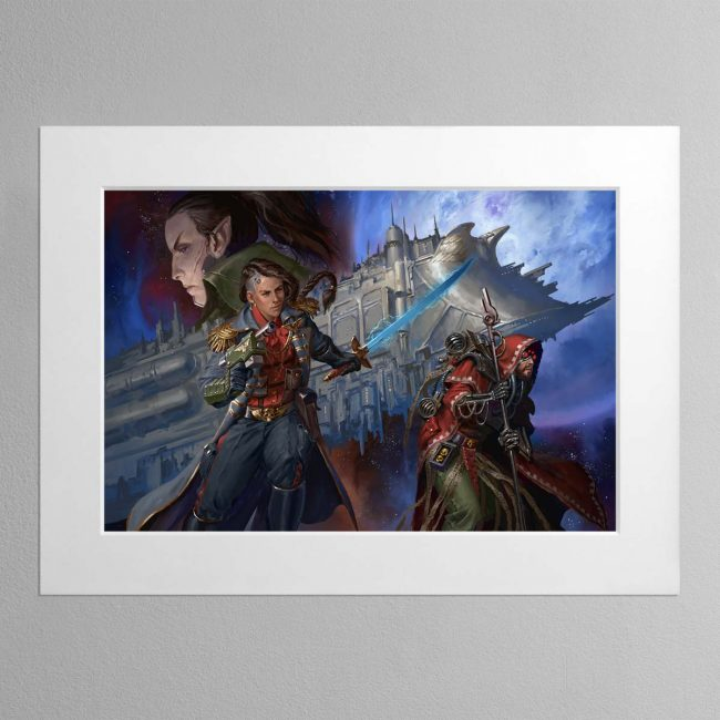 Corsair The Face of the Void – Mounted Print