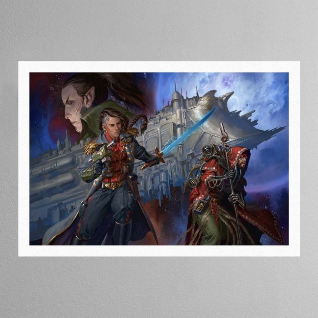 Corsair The Face of the Void – Print