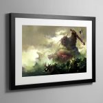 Daemons of Nurgle – Framed Print