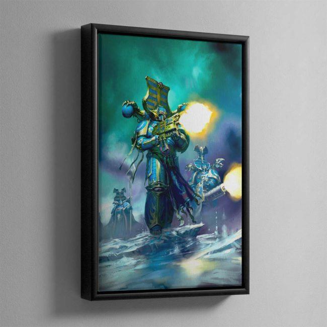 Rubric Marine – Framed Canvas