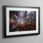 Scions of Baal – Framed Print