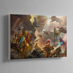 The Golden Legion – Canvas