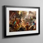 The Golden Legion – Framed Print