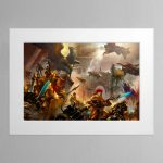 The Golden Legion – Mounted Print
