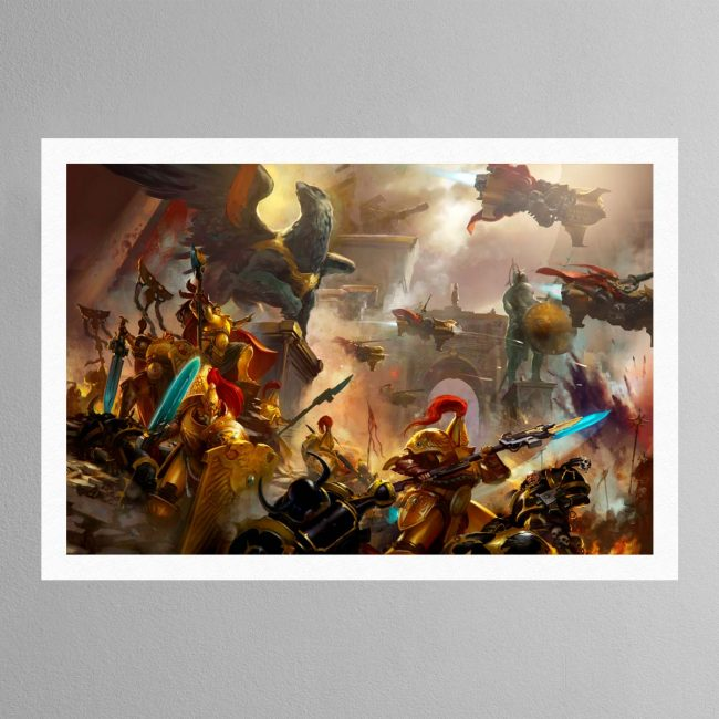 The Golden Legion – Print