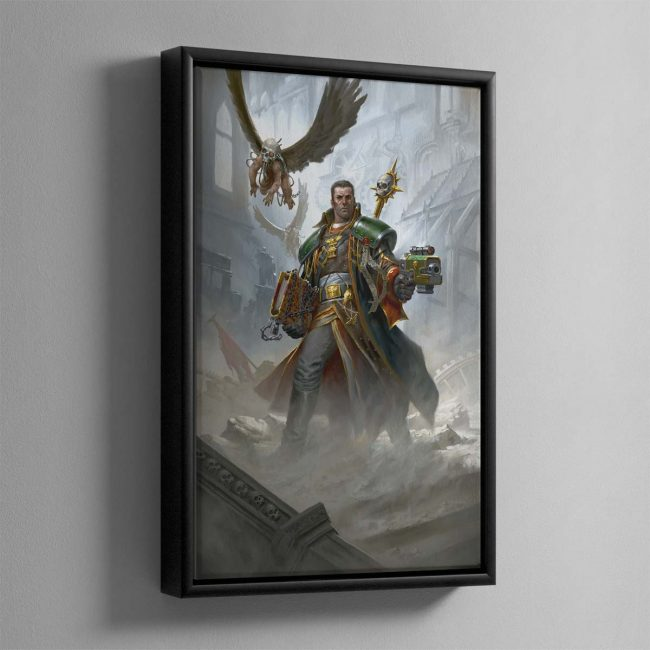 Eisenhorn The Magos – Framed Canvas