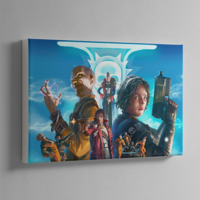 Agent of the Throne Truth and Dreams – Canvas