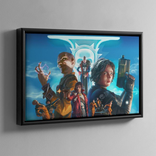 Agent of the Throne Truth and Dreams – Framed Canvas