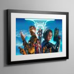 Agent of the Throne Truth and Dreams – Framed Print