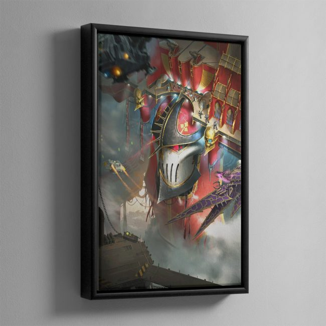 Imperator Wrath of the Omnissiah – Framed Canvas