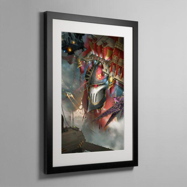 Imperator Wrath of the Omnissiah – Framed Print