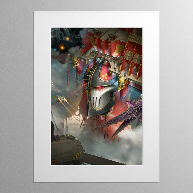 Imperator Wrath of the Omnissiah – Mounted Print