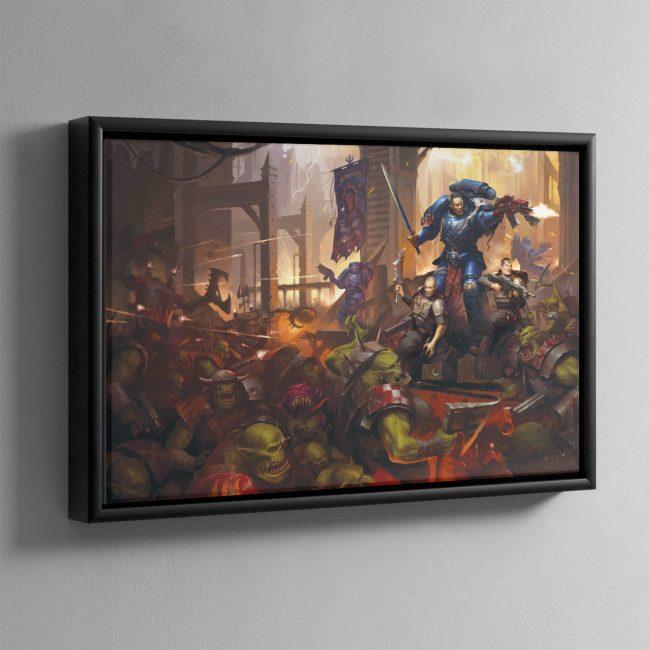 Legacy of Dorn – Framed Canvas