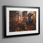 Legacy of Dorn – Framed Print