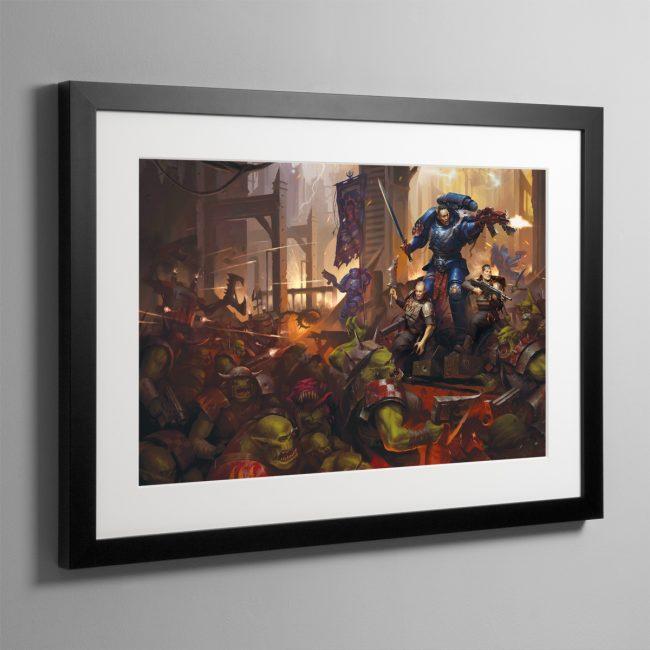 Legacy of Dorn – Framed Print