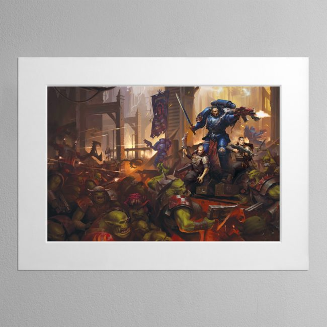 Legacy of Dorn – Mounted Print